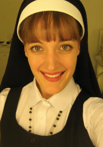 Lael as Sister Mary Robert in Sister Act